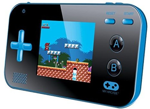 - My Arcade Gamer V: Portable Gaming System - Blue/Black