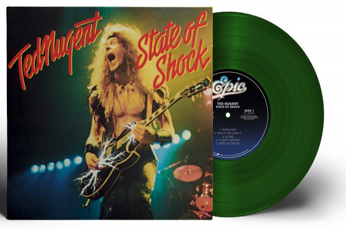 Ted Nugent - State Of Shock [Limited Edition Translucent Green Vinyl]