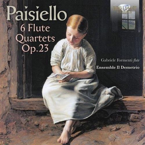 Giovanni Paisiello: 6 Flute Quartets Op 23