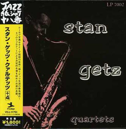 Stan Getz - Stan Getz Quartets (Jpn) (Jmlp)