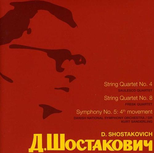 String QRTS Nos. 4 & 8 /  Sym No. 5: 4th Movement