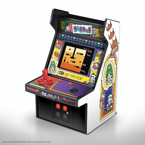 My Arcade Dgunl3221 Dig Dug Micro Player Retro Arc - My Arcade Dig Dug Micro Player