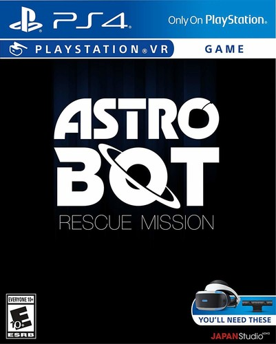 - Astro Bot Rescue Mission VR for PlayStation 4