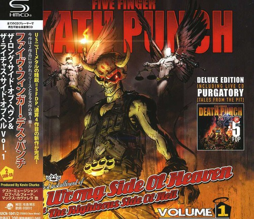 Five Finger Death Punch - The Wrong Side Of Heaven And The Righteous Side Of Hell, Vol. 1 [Import]
