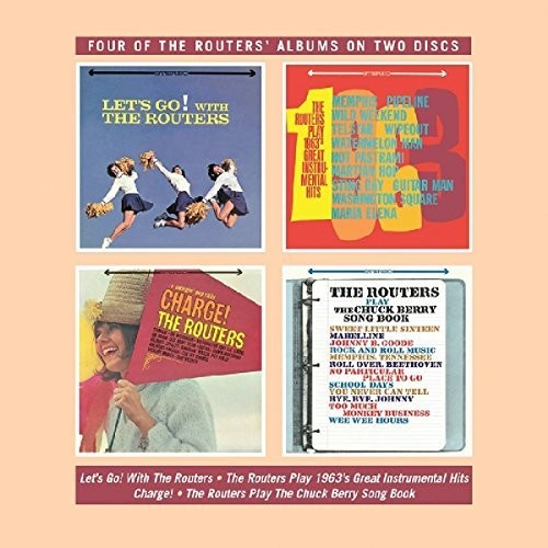 Routers - Let's Go / Play 1963's Great Instrumental Hits