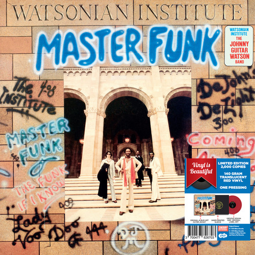 Master Funk - Red Vinyl 2017 Limited Edition