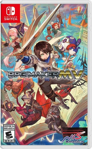 - RPG Maker MV for Nintendo Switch