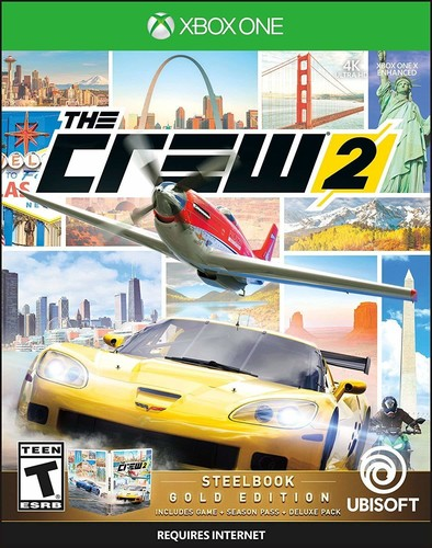 - Crew 2 - Steelbook Gold Edition