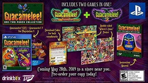 - Guacamelee! One-Two Punch Collection for PlayStation 4