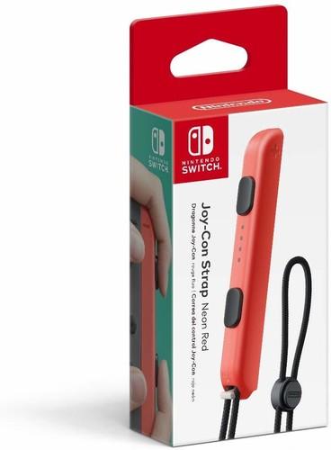 Swi Joy-Con Strap: Neon Red - Nintendo Joy-Con Strap - Neon Red