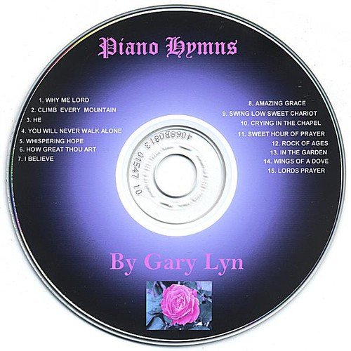 Piano Hymns By Gary Lyn