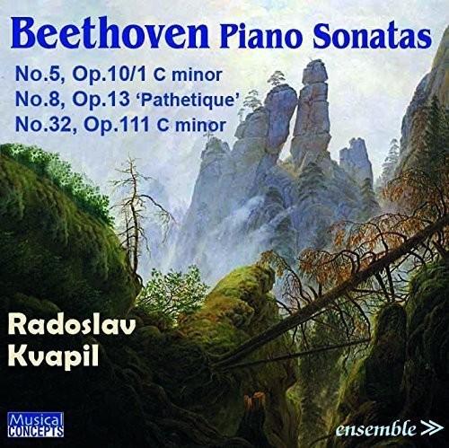 Radoslav Kvapil - BEETHOVEN: Piano Sonatas No. 5 Op.10/1, No.8 Op. 13