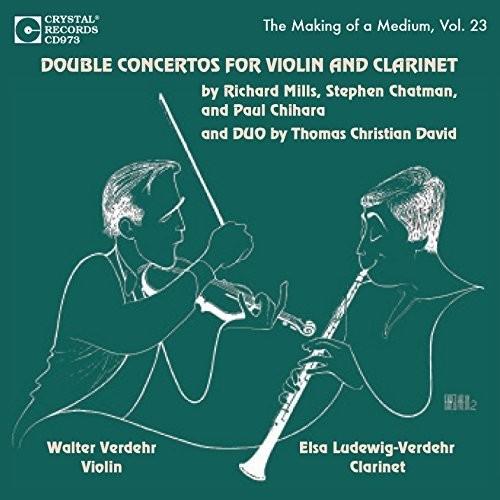 Double Concertos For Violin & Clarinet