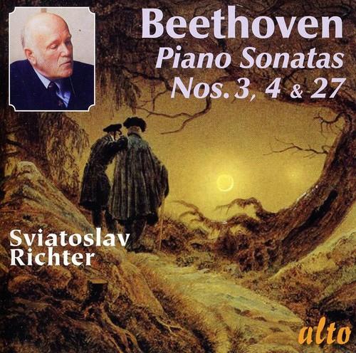 Piano Sonatas 3 & 4 & 27