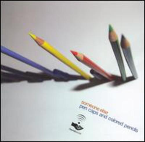 Pen Caps and Colored Pencils