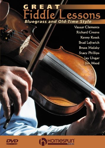 Great Fiddle Lessons: Bluegrass and Old-Time Style