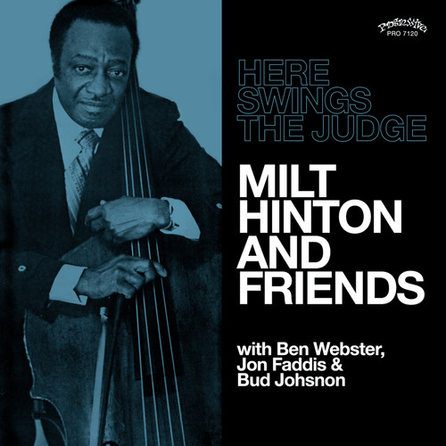 Milt Hinton And Friends - Here Swings The Judge [LP]