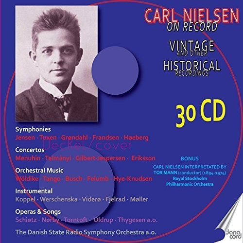 Carl Nielsen on Record