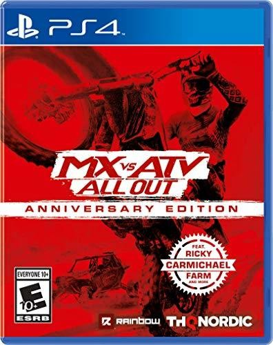 - MX Vs ATV All Out - Anniversary Edition for PlayStation 4