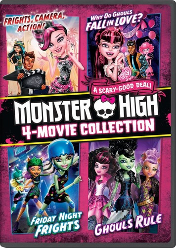 Monster High 4-Movie Collection