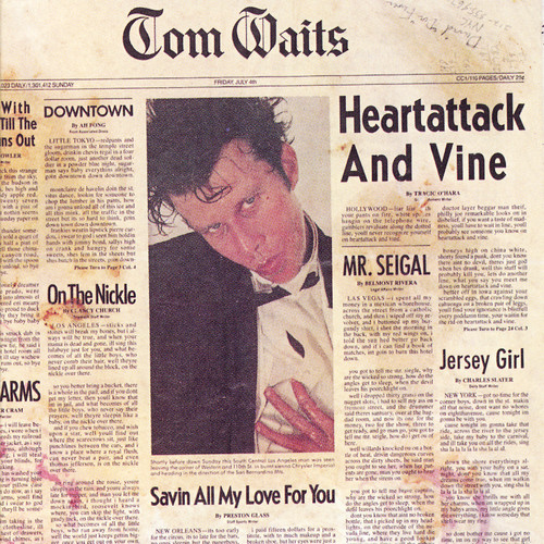 Tom Waits - Heartattack and Vine [Remastered LP]