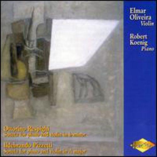 Oliveira Performs Sonatas By Respighi & Pizzetti