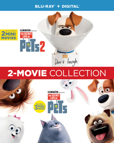 The Secret Life Of Pets [Movie] - The Secret Life of Pets: 2-Movie Collection