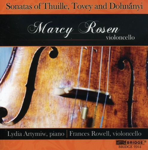 Marcy Rosen Plays Cello Sonatas