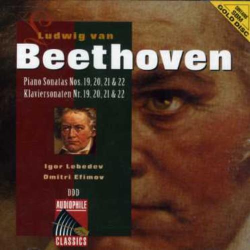 Beethoven: Pno Sonatas Nos 19 - 22