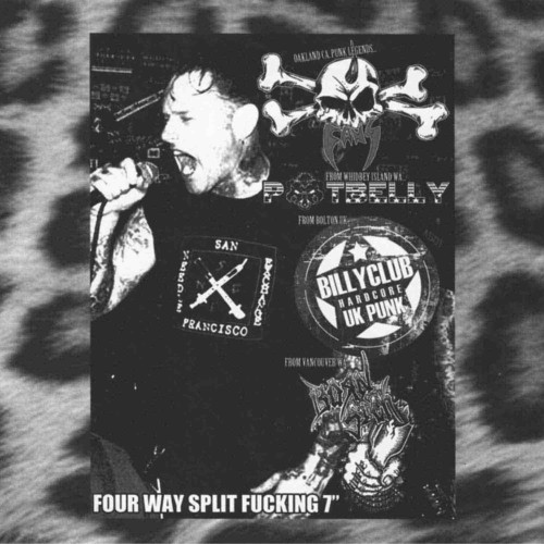 Four Way Split Fucking / Various - Four Way Split Fucking / Various