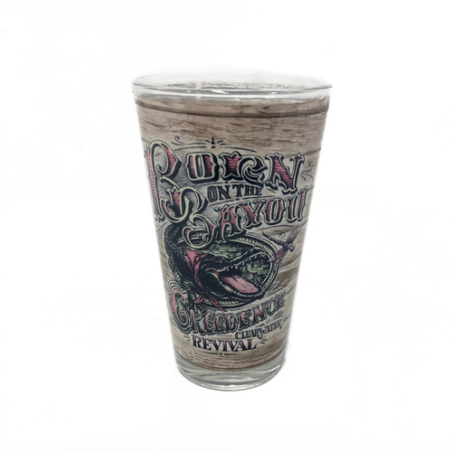 Creedence Clearwater Revival - Creedence Clearwater Revival Born On The Bayou 17 Oz Pint Glass