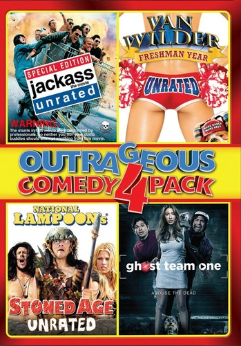 Outrageous Comedy 4-Pack
