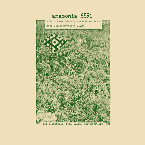 Amazonia 6891: Sounds from Jungle - Natural Object