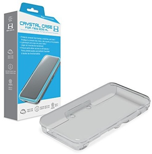 - Hyperkin Crystal Case for Nintendo New 2DS XL