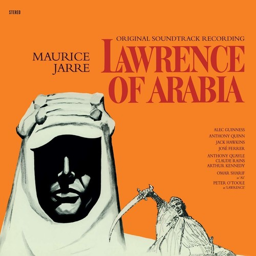 Jarre Maurice Colv Ltd Ogv Red Rmst - Lawrence Of Arabia / O.S.T. [Colored Vinyl] [Limited Edition] [180 Gram]