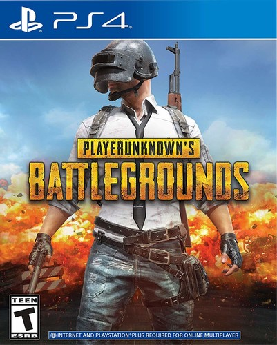 - PLAYERUNKNOWN'S BATTLEGROUNDS for PlayStation 4