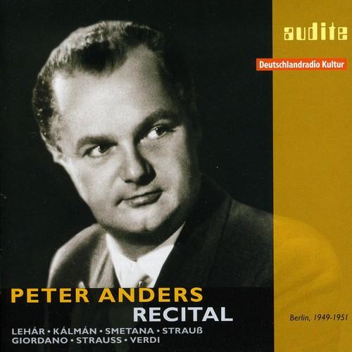 Peter Anders Recital