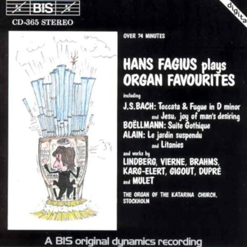 Plays Organ Favorites