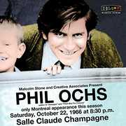 Live In Montreal 10/ 22/ 66 , Phil Ochs