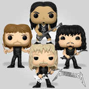 FUNKO POP! ROCKS: Metallica Bundle