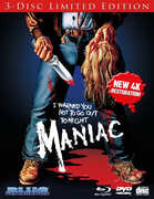 Maniac (3-Disc Limited Edition) , Joe Spinell