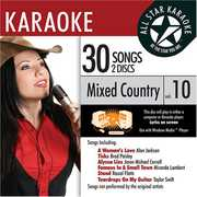 Karaoke: Mixed Country, Vol. 10