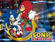 Sonic the Hedgehog - Sonic & Knuckles Sublimation Throw Blanket