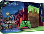 Microsoft Xbox One S 1TB - Limited Edition Minecraft Bundle