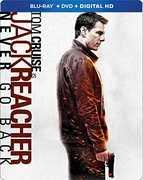 Jack Reacher: Never Go Back (Steelbook) , Tom Cruise