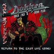 Return To The East Live 2016 , Dokken