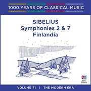 Sibelius: Symphonies 2 & 7 /  Finlandia [Import] , Sibelius
