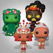 Moana Funko Collection
