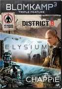 Chappie /  District 9 /  Elysium , Sharlto Copley