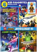 4 Kid Favorites: Lego Dc Super Heroes